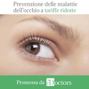 Settimana per la prevenzione delle malattie dell'occhio